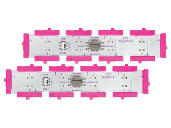 2 littleBits Sequencer