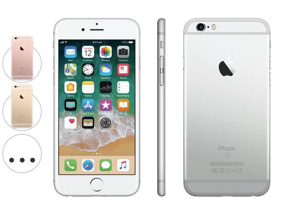 Korting Apple iPhone 6s   64 GB   Premium (A plus )