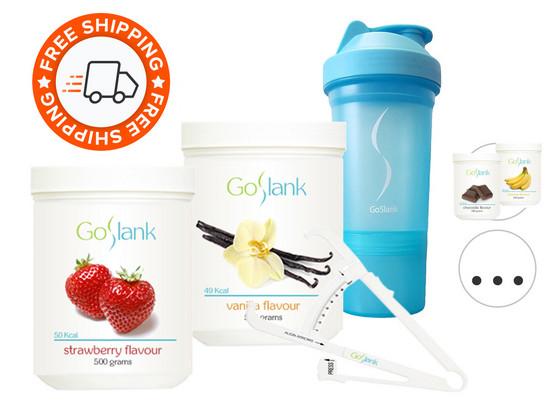 Korting GoSlank Maandpakket (2x 500 g Shakes)