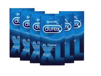 72x prezerwatywa Durex XL Power