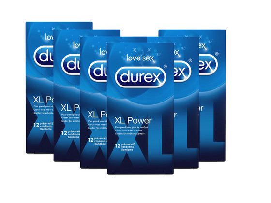 Korting 72 Durex XL Power Condooms