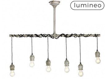 Lumineo Industriële Hanglamp (6 Fittingen)