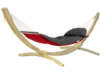 Fat Hammock Red & Olymp Natural