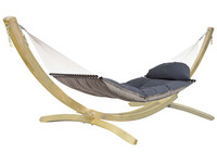 Fat Hammock Taupe & Olymp Natur