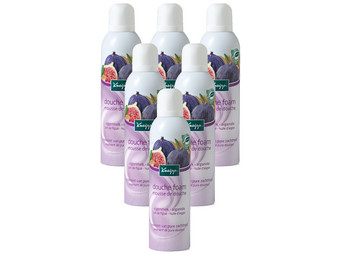 6x Kneipp Vijgenmelk Douchefoam | 200 ml