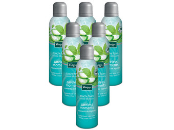 6x Kneipp Careless Douchefoam | 200 ml