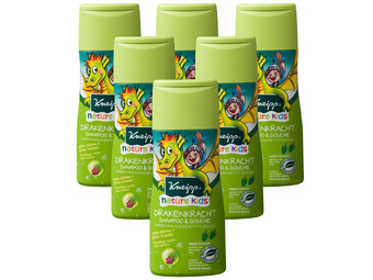 6x Kneipp Dragon Power Shampoo