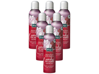 6x Kneipp Senses Douchefoam | 200 ml