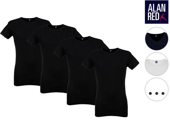 Korting 4x Alan Red Oklahoma Ottawa T Shirt