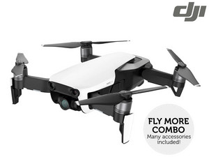 DJI Mavic Air Arctic White + Fly-More-Satz