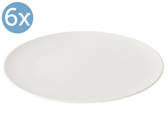 6x Like Voice Basic Dinerbord | Ø 27 cm