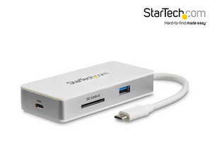 Adapter Startech USB-C 4w1 | 100 W