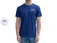Lee Small Logo T-Shirt | Heren