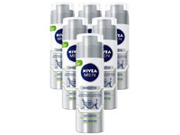 6x Nivea Sensitive Stubble Scheerschuim