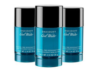 3x Davidoff Cool Water Deo | 75 ml