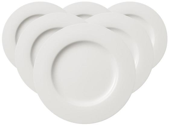 6x V en B Twist White Dinerbord Ø 27 cm