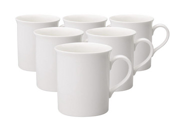 6x V&B Twist White Tasse | 300 ml