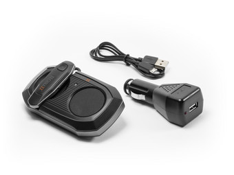 Technaxx Bluetooth Car Kit with In-Ear Headphone