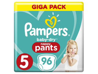 Pampers Baby Dry Pants | Maat 5 | 96 st.