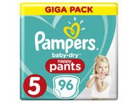 96x Pampers Baby Dry | rozm. 5