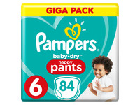 Pampers Baby Dry | rozm. 6 | 84 szt.