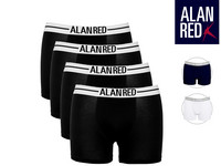4x Alan Red Boxershort
