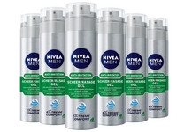 6x NIVEA Men Rasiergel | 200 ml