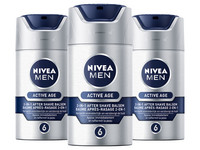 3x Nivea Active Age Aftershave