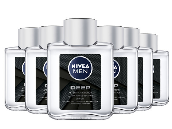 Korting 6x Aftershave Deep Lotion | 100ml