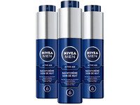 3x Nivea Men Active Age Nachtcrem
