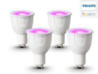 4x Philips Hue LED White and Colour   GU10