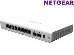 Switch Netgear GC110 | 8 portów + 2 SFP