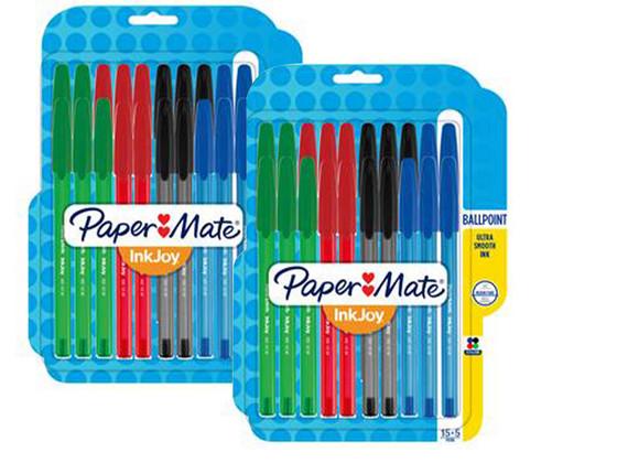 Korting 40 Paper Mate Balpennen