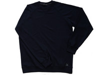 Cotton Butcher Sweater | Navy