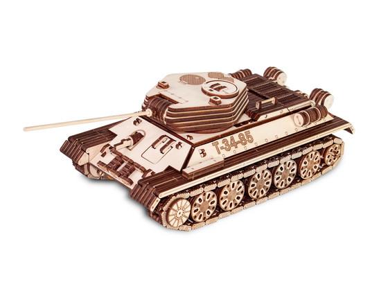 Korting Eco Wood Art T 34 85 Tank Houten Modelbouw