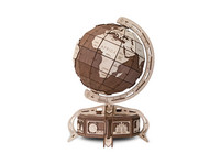 Eco-Wood-Art The Globe Bruin