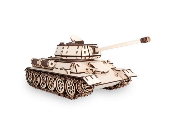 Korting Eco Wood Art T 34 Tank Houten Modelbouw