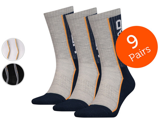 Korting Head Crew Sokken | 9 Paar