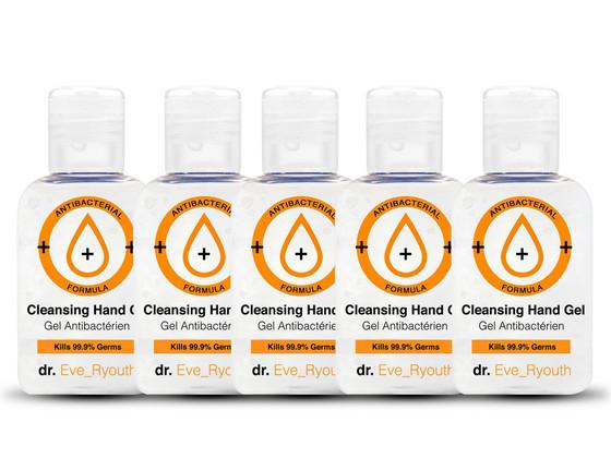 Korting 5x dr. Eve Ryouth Anti Bacteriële Handgel | 50 ml