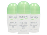3x Biotherm Natural Protect 24H Deo | 75 ml