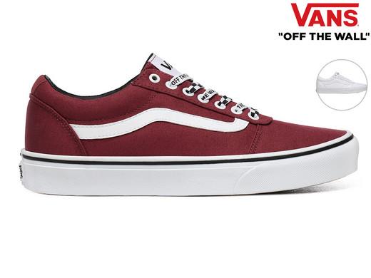 Vans Ward Canvas Sneakers | Heren - Internet's Best Online ...