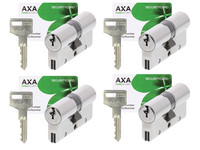4x AXA Xtreme Security Sicherheitszylinder