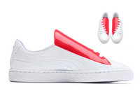 Puma Basket Crush White Sneakers