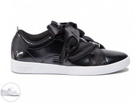 Puma Smash Buckle Patent Sneakers