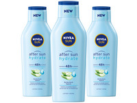 3x Nivea Hydrate After Sun Lotion