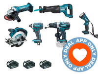 Makita Big Combo Kit DLX6045M