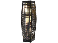 Lumineo Solar LED Wicker Lantaarn | L