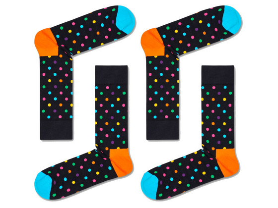 Korting 2 Paar Happy Socks | 36 46