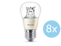 8x Philips Warmglow LED Lampen | 40 W