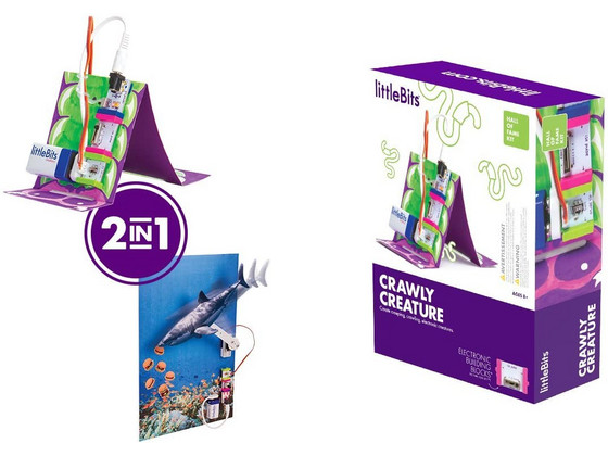 Korting littleBits Hall of Fame Kit Crawly Creature